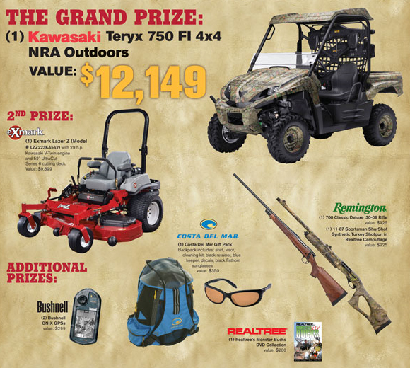 2009 Exmark Gear Giveaway Sweepstakes