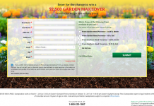 Sweeps.Preen.com - Preen $2,500 Garden Makeover Sweepstakes
