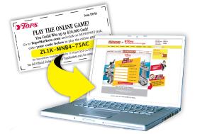 online game code ticket