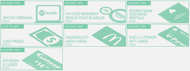 PlayAtMcD.com Online Game Prizes