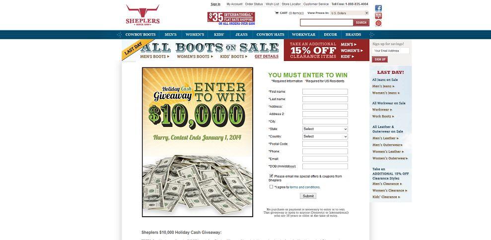 #3149-Sheplers_ Cash Giveaway-www_sheplers_com_content_jsp_pageName=cash_giveaway