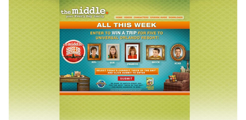 #3284-The Middle Weeknights - Gotta Getaway Sweepstakes Oct 21st - Nov 1st-www_themiddleweekdays_com_sweepstakes_#_landing
