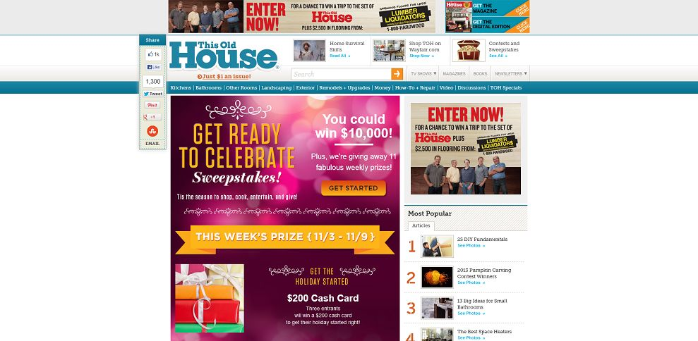 #3486-Get Ready to Celebrate Sweepstakes I This Old House-www_thisoldhouse_com_toh_info_0,,20573391,00_html