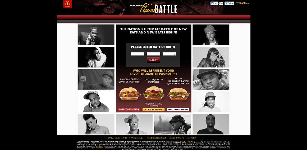 #3726-McDonald's Flavor Battle-flavorbattle_complex_com