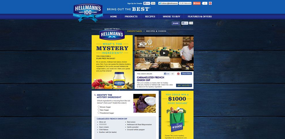 #3851-Hellmann's® - Mystery Ingredient Sweepstakes-www_hellmanns_com_article_media_650195_inspire