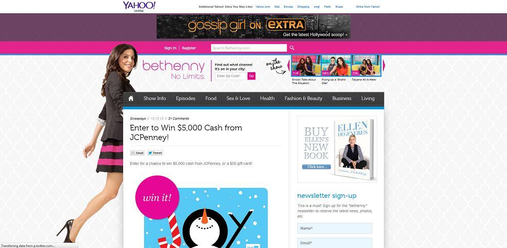 #3919-Enter to Win $5,000 Cash from JCPenney! I Bethenny_com-www_bethenny_com_2013_12_13_jcpenney-5k-giveaway
