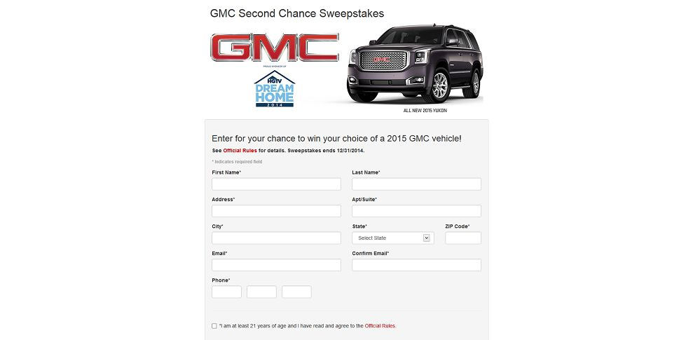 #4044-GMC Second Chance Sweepstakes-buickgmc_exposuremarketing_com_buickgmcnationals2013_dream-home_register_html