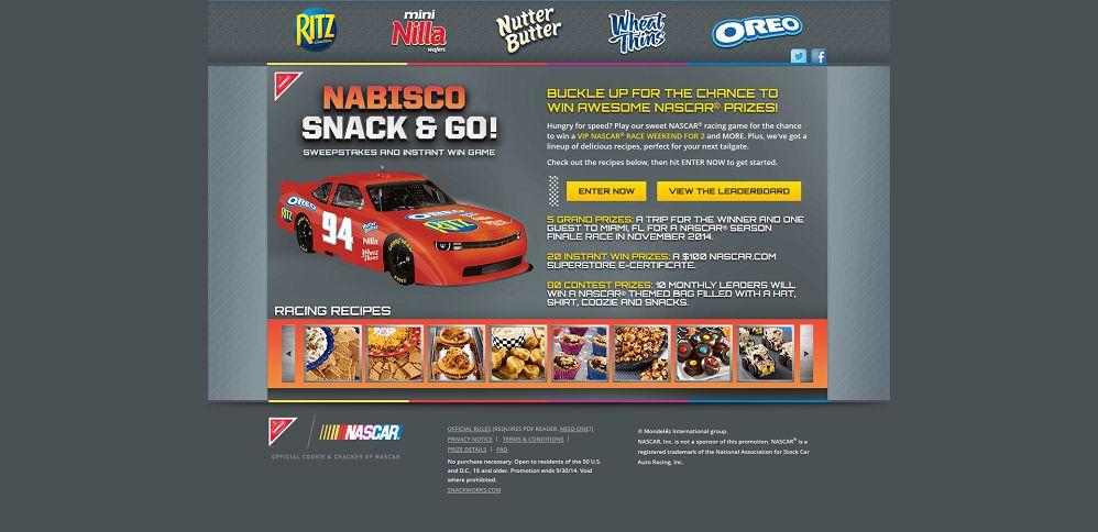 #4649-Nabisco Snack & Go! NASCAR® Sweepstakes and Instant Win Game-mondelez_promo_eprize_com_nascar