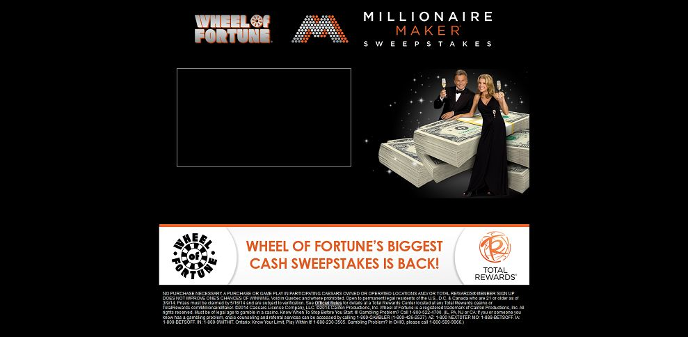 #5116-Wheel of Fortune Millionaire Maker Sweepstakes-www_wofmillionairemaker_com