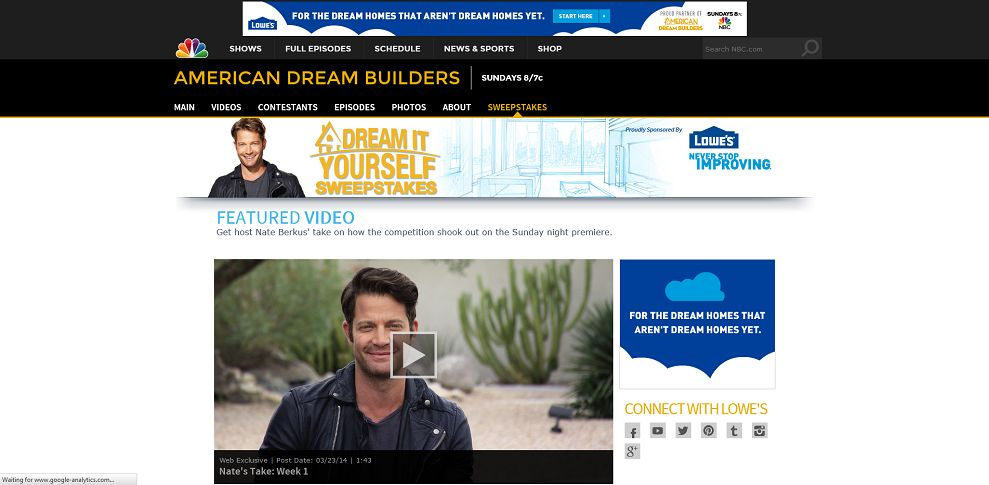 #5224-Watch Exclusive Video I American Dream Builders I NBC-www_nbc_com_american-dream-builders_lowes