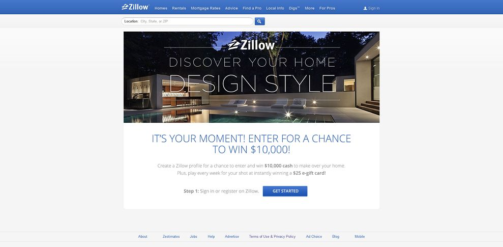 #5230-Zillow Sweepstakes and Giveaways!-www_zillow_com_win