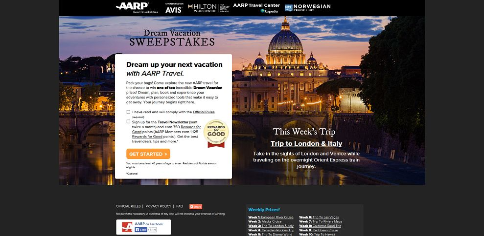 #5276-AARP Travel Dream Vacation Sweepstakes-sweeps_aarp_org_travel2014_#_UzwcllcXJGU