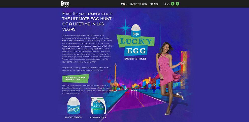 #5317-L'eggs Lucky Egg Sweepstakes-www_leggsluckyegg_com