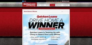 QLRacing.com - Quicken Loans Drive Home A Winner Sweepstakes