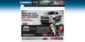 Toyota Tundra Angler of the Year Fan Favorite Sweepstakes