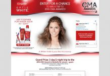 OpticWhiteCMA.com - Colgate Optic White Win a Trip to the 2016 CMA Awards Sweepstakes