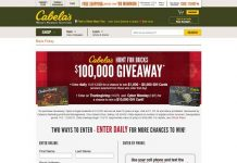 Cabelas.com/Bucks - Cabela's Hunt For Bucks Giveaway