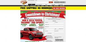 BassPro.com/Countdown - Bass Pro Shops Countdown to Christmas 2015 Sweepstakes