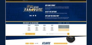 2016 NHL All-Star Fan Vote Sweepstakes