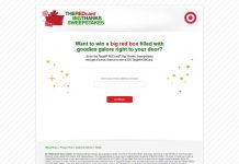 REDcard Big Thanks Sweepstakes