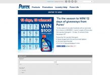 Purex 12 Days Of Giveaways