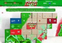 Pop Up Santa Sweepstakes