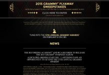 GRAMMY Nominees Album Flyaway Sweepstakes