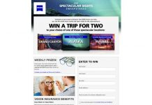 ZEISS Spectacular Sights Sweepstakes