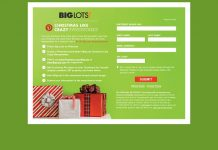 Big Lots Christmas Like Crazy Sweepstakes