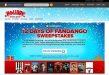 12 Days of Fandango Sweepstakes