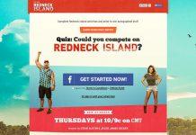 Ultimate Redneck Island Prize Pack Sweepstakes (cmtredneckisland.com)