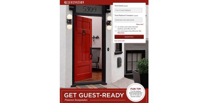 Get Guest-Ready Rejuvenation Pinterest Contest
