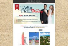 Pin It To Win A Wedding Contest