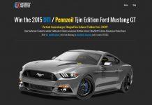 2015 UTI Mustang Sweepstakes