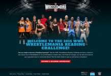 2015 Wrestlemania Reading Challenge Sweepstakes