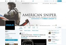 American Sniper IMAX Twitter Sweepstakes