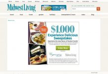 Midwest Living Experience Delicious Sweepstakes