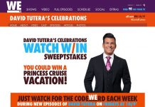 WEtv David Tutera CELEbrations Watch And Win Sweepstakes