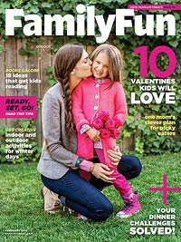 FamilyFun Magazine February 2015
