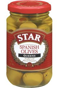 STAR Pimiento Stuffed Queen Olives