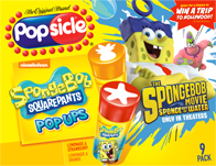 Spongebob Popsicle promo pack