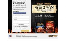 Curly's And Captain Morgan Spin 2 Win BBQ Challenge Game - CurlysSpin2Win.com