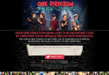 One Direction Valentine's Day Sweepstakes