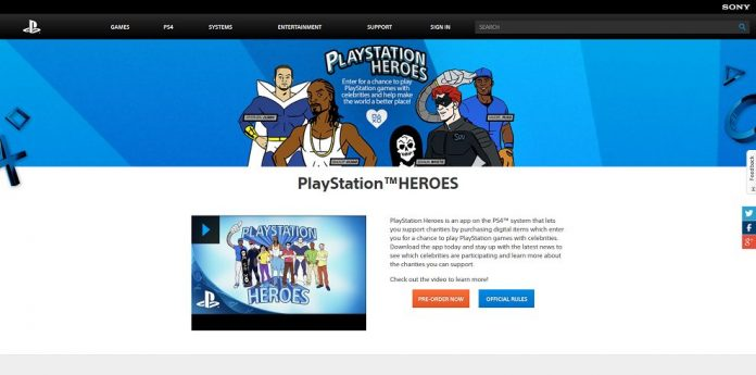 PlayStation Heroes Sweepstakes