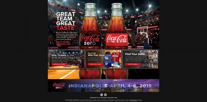 Coca-Cola And Coca-Cola Zero Gear Up For The Game Instant Win Game