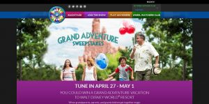Wheel of Fortune Grand Adventure Sweepstakes