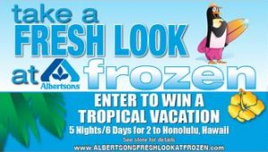 albertsons frozen food month