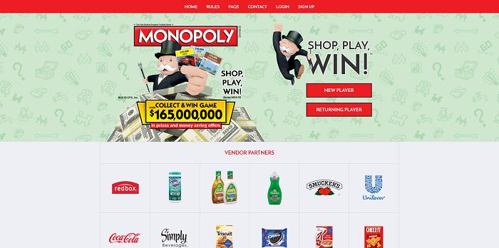 Play Albertsons Monopoly 2016