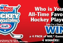 Price Chopper And Kraft Hockey Sweepstakes