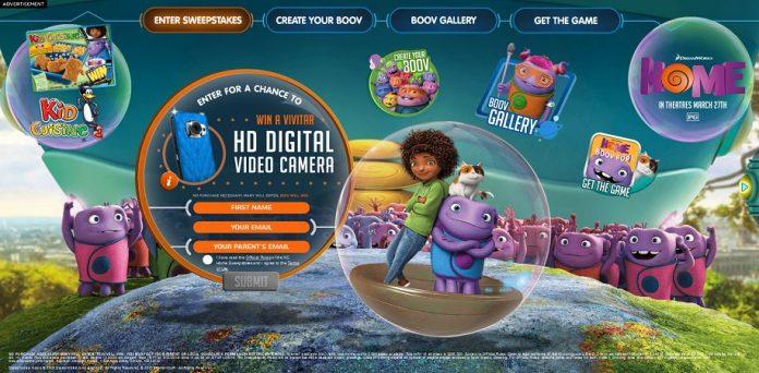 Kid Cuisine Home Movie Sweepstakes - KidCuisine.com/Home